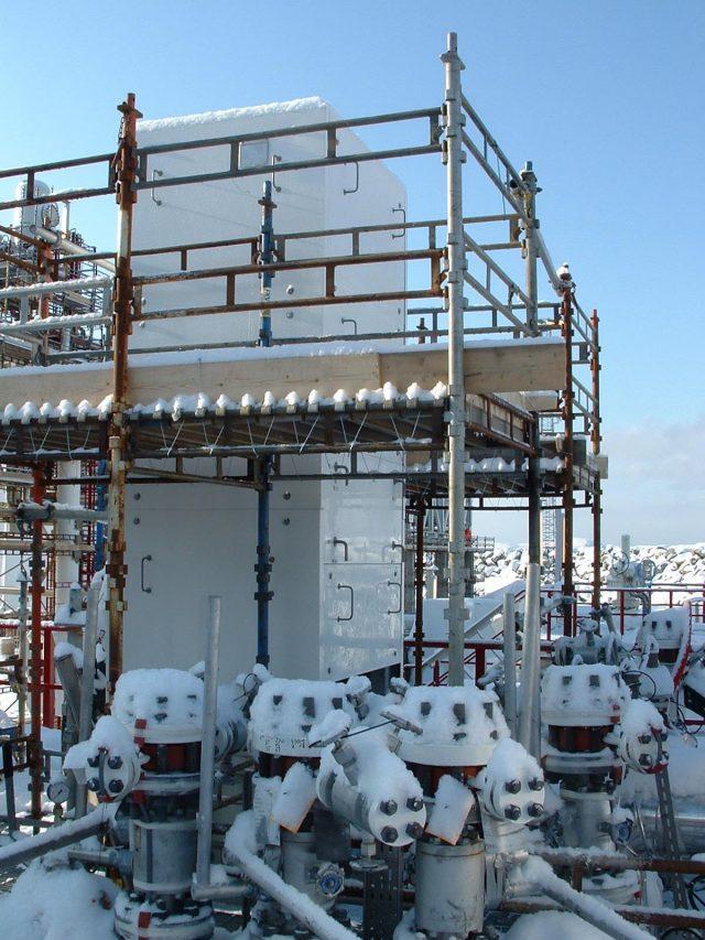 Snøhvit Hammerfest LNG Enclosures